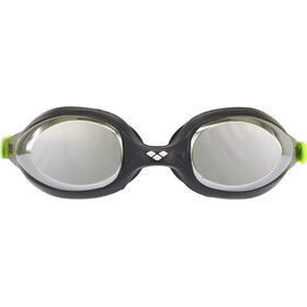 arena Spider Mirror Goggles Kinder black-silver-green
